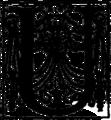 Crainquebille, Putois, Riquet - Illuminated Initial - U.png