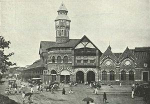 Mahatma Jyotiba Phule Mandai - Crawford Market, c. 1905