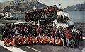 Crew of Attack Squadron 37 on USS Saratoga (CV-60) in 1980.jpg