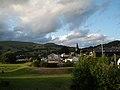 Crickhowell - view from the bridge on a June evening - geograph.org.uk - 853889.jpg