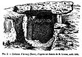 Croquis de l'allée couverte de Dampsmesnil en 1894.jpg