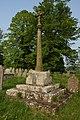 Cross in Woolhope churchyard - geograph.org.uk - 442959.jpg