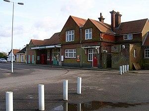 Crowborough railway station - Image: Crowborough Railway Station