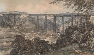 Crumlin Viaduct: on the Newport, Abergavenny & Hereford Railway Extension to Taff Vale