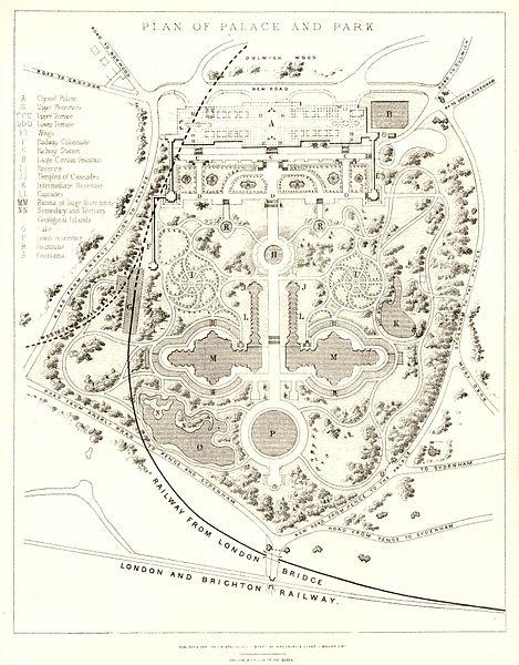 Файл:Crystal Palace Park - 1857.jpg
