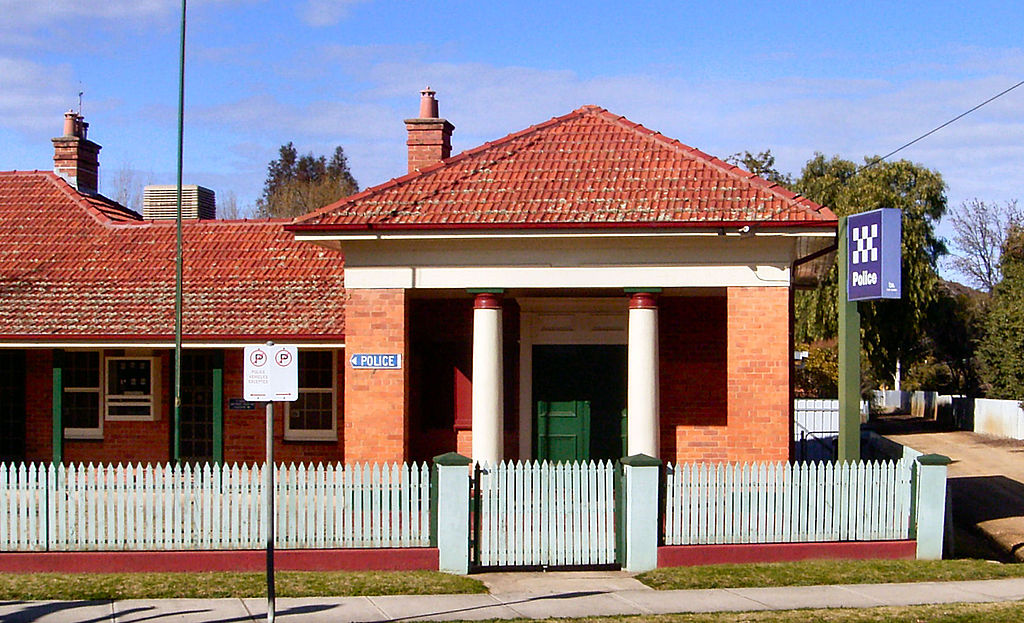 Culcairn Australia  City new picture : ... to Culcairn Police Station, Culcairn, New South Wales, Australia