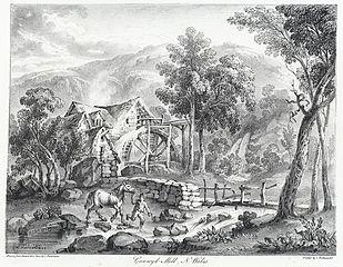 Cunwyd Mill, N. Wales