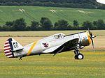 Curtiss-Wright P-36C N80FR - Flying Legends 2016 (28193546976).jpg