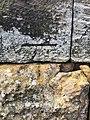 Cut Mark at Scarborough South Cliff, Wall Corner.jpg