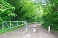 Cycle Track leading from Momples Road to Latton Street, Harlow, Essex.jpg