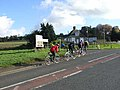 Cyclists at Low Brunton - geograph.org.uk - 1018878.jpg