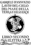 D'Annunzio - Laudi, II (page 11 crop).jpg