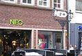 Düsseldorf, Flinger Straße, Schaum-Werbeaktion der Firma Neo (3).jpg