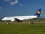 D-AEBK Lufthansa CityLine Embraer ERJ-195LR (ERJ-190-200 LR) - cn 19000500 taxiing 19july2013 pic-006.JPG