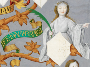 Infanta Branca, Lady of Guadalajara - Image: D. Branca, Infanta de Portugal, Senhora de Guadalajara The Portuguese Genealogy (Genealogia dos Reis de Portugal)