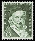 DBP 1955 204 Carl Friedrich Gauß.jpg