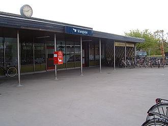 Vangede station - Image: DSB Vangede 2