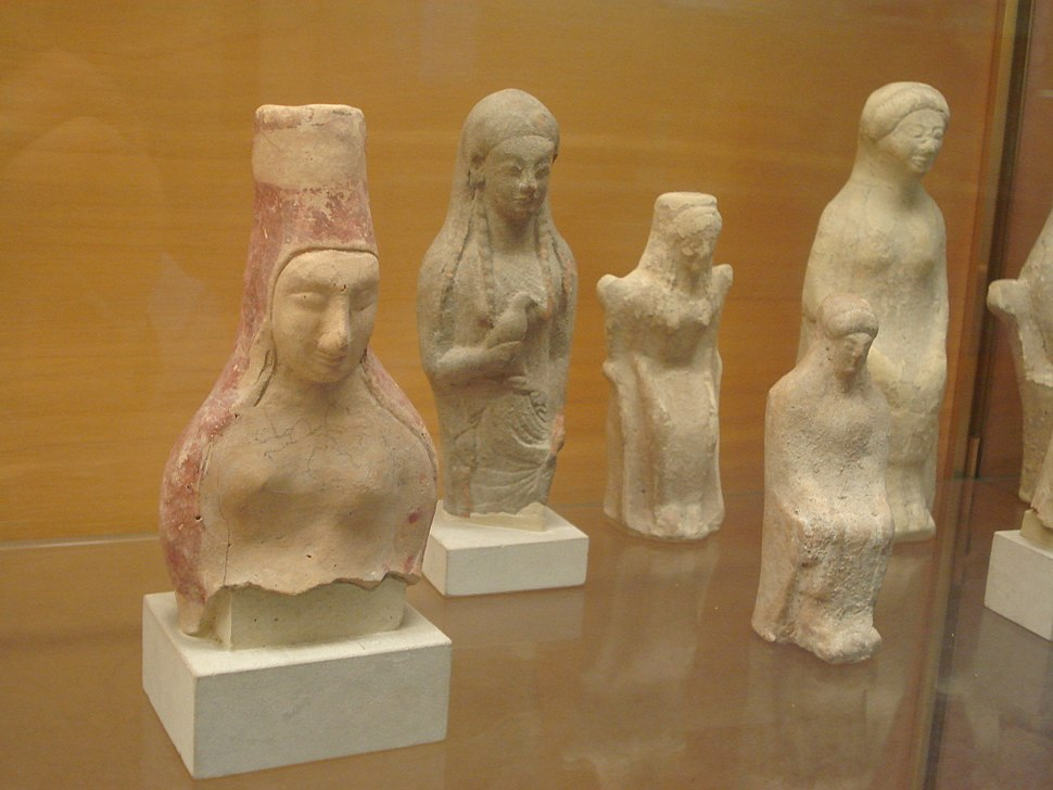 DSC00151 - Statuette greche di korai offerenti, da Selinunte - Foto di G. Dall'Orto