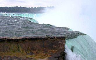Caprock - Horseshoe Falls, part of the Niagara Escarpment