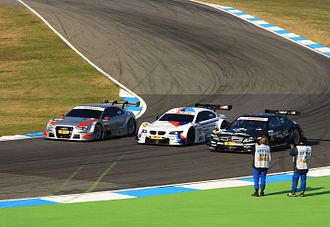 Touring car racing - DTM at Hockenheim in 2012