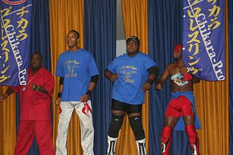 Da Soul Touchaz - (From left to right) C. Red, Marshe Rockett, Willie Richardson and Acid Jaz in June 2008