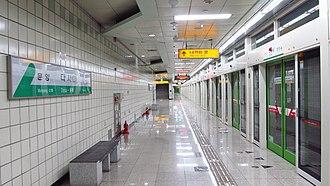 Dasa station - Station platform