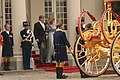 Dag van de troonrede koningspaar Maxima en Willem Alexander.JPG