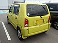 Daihatsu NAKED G package (GH-L750S) rear.jpg