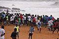 Dakar spiaggia giovani in allenamento.jpg