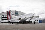 Dakota Norway DC-3 at Flesland Fjordsteam 2018 (131907).jpg