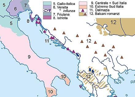 Dalmazia Italiana Cartina.Dalmazia Wikipedia
