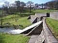 Dam, Fonthill Lake - geograph.org.uk - 742359.jpg