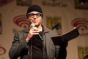 Damon Lindelof - At WonderCon, 2012