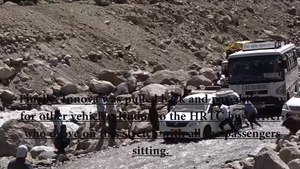 File:Dangerous Water Crossing At Chota Dara In Spiti Valley.webm