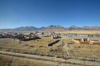 Dangquka Town in Tibet Autonomous Region, Peoples Republic of China