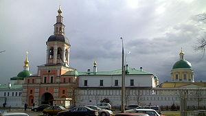 Danilov Monastery - Main entrance