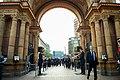 Danish Foreign Minister Jensen Escorts Secretary Kerry as They Walk Into Tivoli Gardens in Copenhagen (27117121523).jpg
