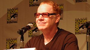 Danny Elfman at 2010 San Diego Comic-Con Inter...