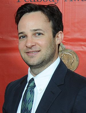 Danny Strong - Strong at the 2013 Peabody awards