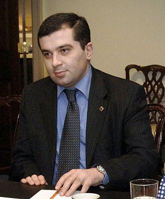 Georgian presidential election, 2013 - Image: David Bakradze