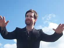 Description de l'image David Cook American Idol Homecoming 2.jpg.