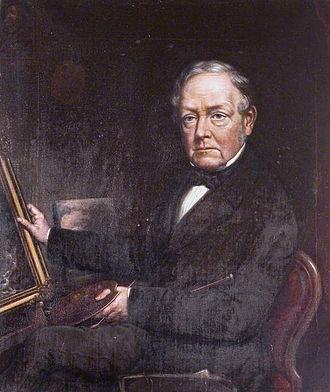 David Gee (artist) - Self portrait (c. 1868)