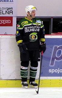 David Hruška Czech ice hockey player
