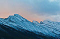 Dawn, Mt. Rundle, Alberta (11842970135).jpg