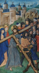 Christ carrying the Cross towards Calvary