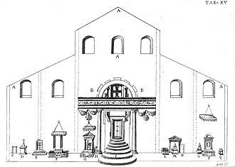 Giovanni Ciampini - Image: De sacris aedificiis a Costantino Magno constructis synopsis historica pag. 56 Tab. XV