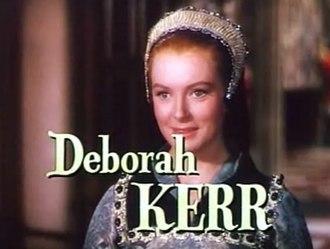 Deborah Kerr - Kerr in Young Bess (1953)
