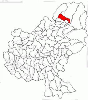 Deda, Mureș Commune in Mureș, Romania