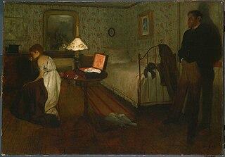 <i>Interior</i> (Degas) painting by Edgar Degas