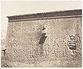 Dendérah (Tentyris), Temple d'Athôr - Face Postérieure MET DP139901.jpg